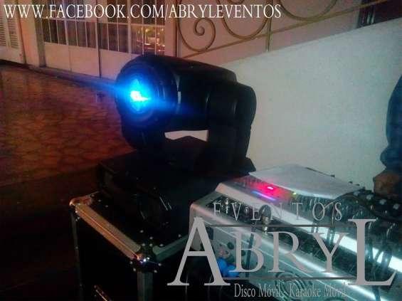Alquiler de sonido, hora loca y luces para bodas y matrimonios en lima
