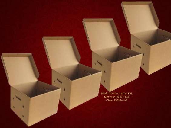 Cajas archivo