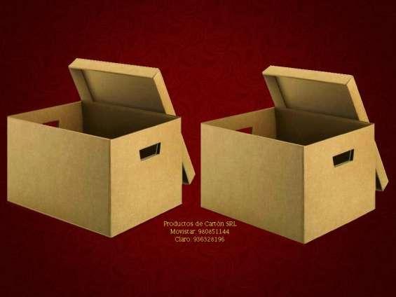 Caja archivadora