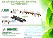 SISTEMA DE COLAS CON SOFTWARE PARA RECEPCION/MAXSOTEC/LIMA/SOLICITE COTIZACION