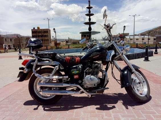 Vendo moto chopera lifan 200