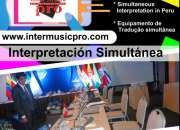 SELVA  Iquitos Traducción Simultánea _Translation and Interpreting Services C. 997163010