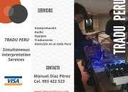 TRADUPERU Traductores e Intérpretes Cel.  993422523 997163010