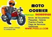 Courier delivery Mensajeria motorizado lima callao