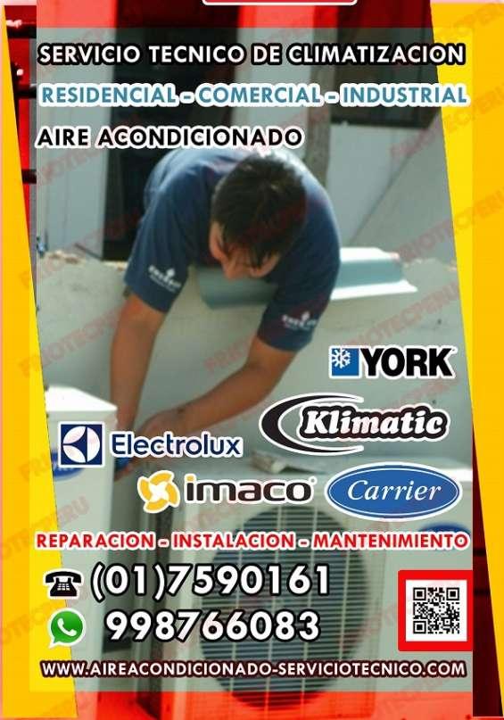 Técnicos especializados en reparaciones técnicas de aire acondicionado