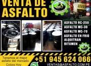 Asfalto en frio 100% garantizados asfalto liquido
