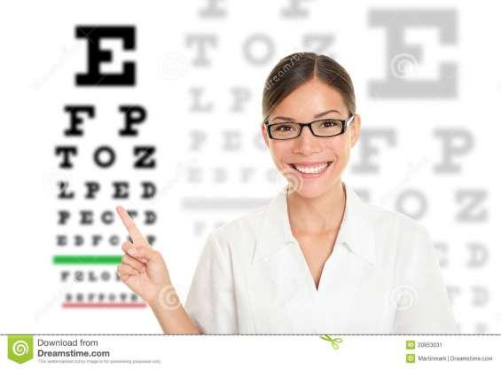 Optometra vendedora con experiencia