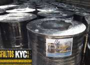 Venta de asfaltos emulsiones y derivados a todo el Peru