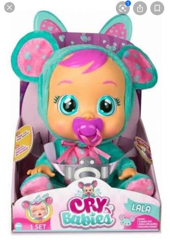 Cry babies - muñecas que lloran de verdad - originales